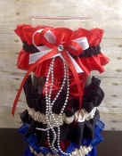** Custom Made Garters ** Upgraded Design Also Available