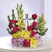 """Bright & Beautiful Memories"" - Fresh Flower Arrangement"