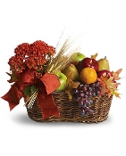 """Seasons Harvest"" Flower Arrangement"