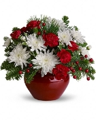 Merry and Bright - Fresh Flower Arrangement