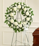 """Angelic Memories"" - Standing Memorial Wreath Design"