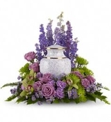 """Enchanting Memories"" Memorial Arrangement"