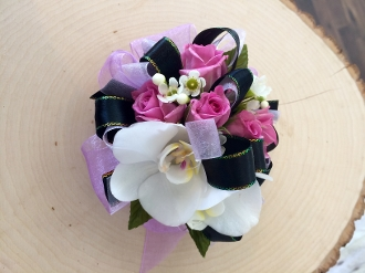 Lavender Rose & Tropical Rose Corsage - Choose Your Colors!