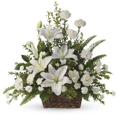 """Peaceful Memories"" - Basket Memorial Design - Deluxe"