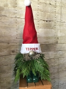 """Gnome for The Holidays"" - Fresh Flower Design - Deluxe"